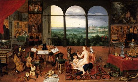 the sense of hearing by brueghel jan the elder