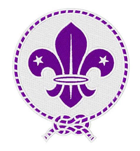 embroidery design membership scout emblem embroidery design annthegran