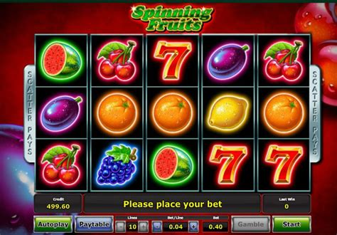 spinning fruits slot review bonus codes askgamblers