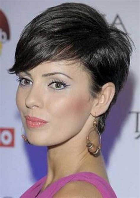 pixie cut with long bangs 30 pixie haircut pictures short hairstyles 2017 2018