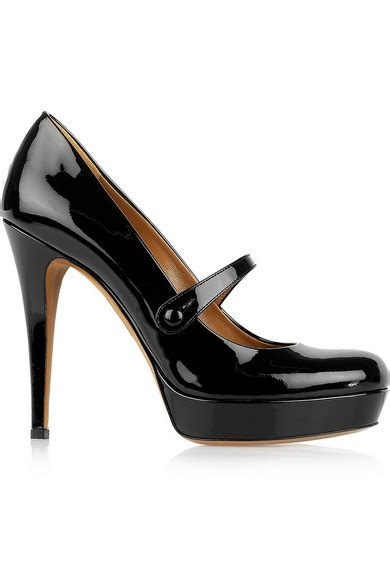 Gucci Mj gucci patent leather pumps net a porter