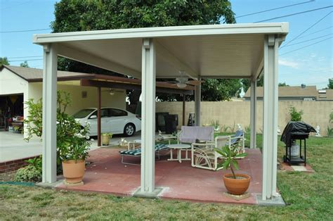 free standing flat pan patio cover yelp