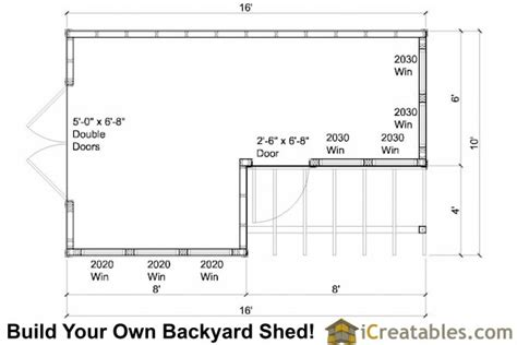 shed layout plans 10x8 6x8 garden shed plans