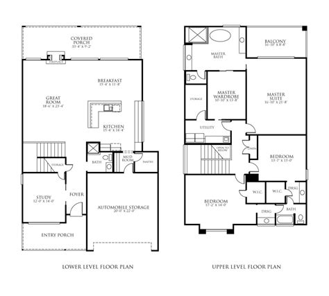 floor plans new home floor plans