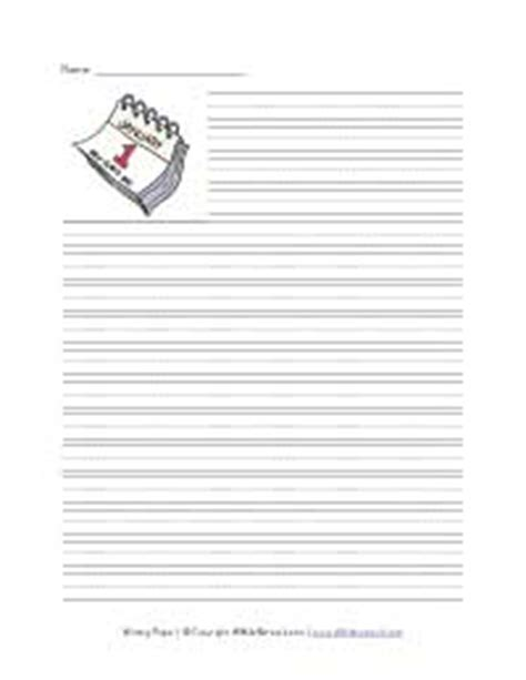 new year lined writing paper primary writing paper