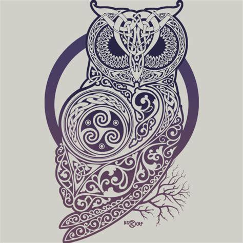 owl viking tattoo celtic owl daddy board pinterest owl tattoo and tatting