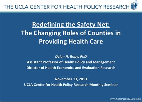 Ucla Mba Mph Dual Degree by Newsroom Ucla Center For Health Policy Research