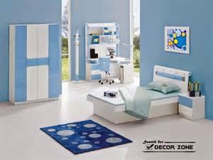 Blue bedroom furniture design blue bedroom design with blue wallpaper
