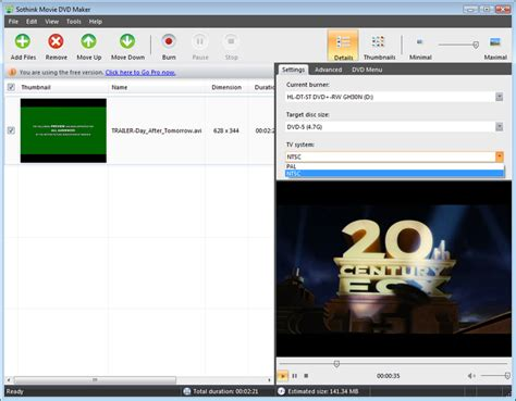 best free dvd creator sothink dvd maker