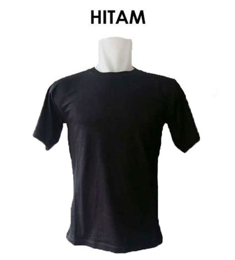 Kaos Distro Hitam Ready To Rase kaos polos hitam o neck pria kaos oblong must muss