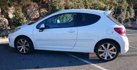 siege 207 rc a vendre 207 rc blanche auto peugeot 224 biot reference aut peu 207
