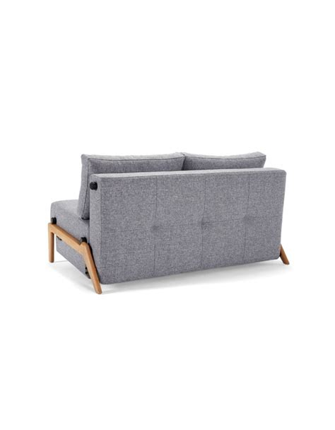 Cubed Sofa Bed Innovation Cubed Wood 140 Sofa Bed Contemporary Light