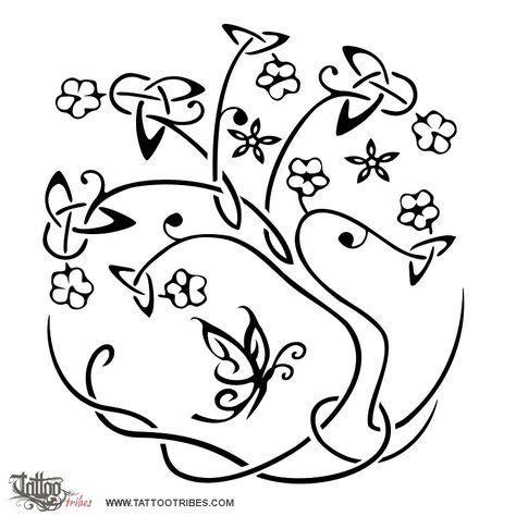 tatuaggio fiore della vita albero della vita albero tatuaggio tatuaggi