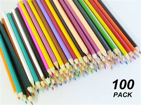 bulk colored pencils bulk 100 pack coloured pencils ebay