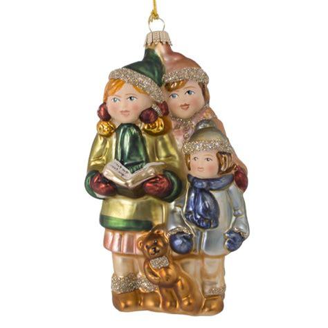 krebs glas lauscha collectable glass children carol