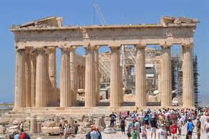Classical Athens To Modern One by Going Ancient Athens Via Modern Athens Dale