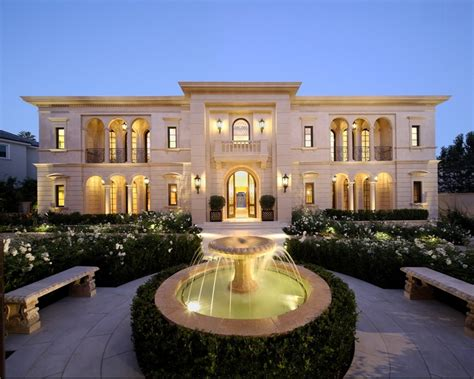 rich house design spectacular limestone mansion in los angeles ca homes