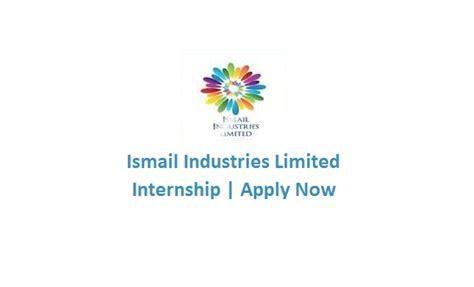 Mba Internships Sargodha by Ismail Industries Internship June 2017