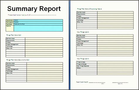 10 Business Weekly Report Template Sletemplatess Sletemplatess Weekly Summary Report Template