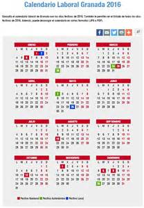 Calendario 2016 Semana Santa Calendario Laboral De 2016 Puentes Festivos Semana