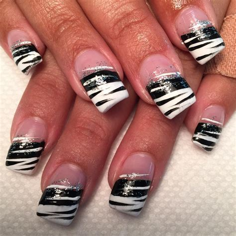 white and black pattern nails 27 white and black nail art designs ideas design trends