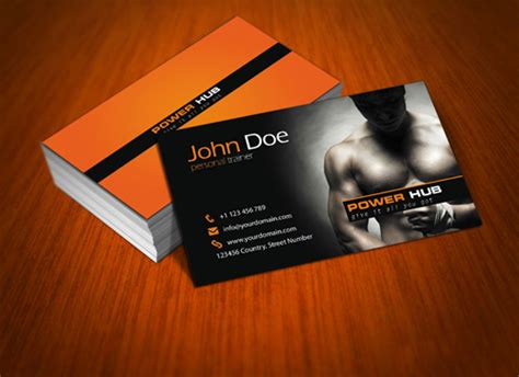 fitness business card template psd 125 free business cards psd for photoshop review