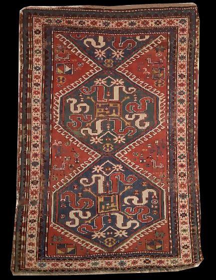 antique rug appraisal cloudband karabagh rug