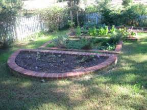 Raised Bed On Patio by Brick Raised Garden Beds The Brick Raised Beds Are