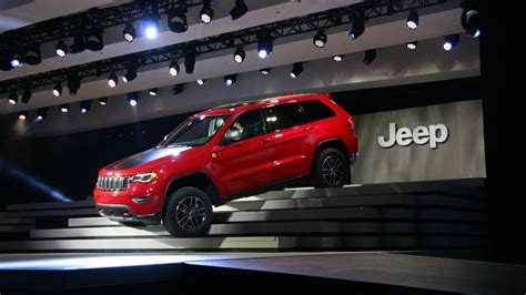 jeep unveils seven new jeep unveils two new models of the grand cherokee