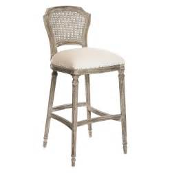 camilla french country washed taupe linen barstools set