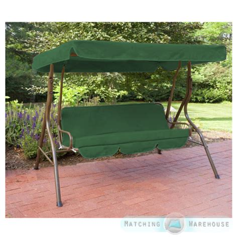 replacement garden swing cushions replacement 3 seater swing seat canopy cover and cushions