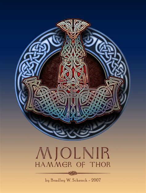 mjolnir hammer of thor by bws on deviantart