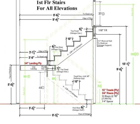 how to draw stairs in a floor plan typical residential stair plan drawing google search