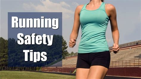 11 running safety tips for running safety tips