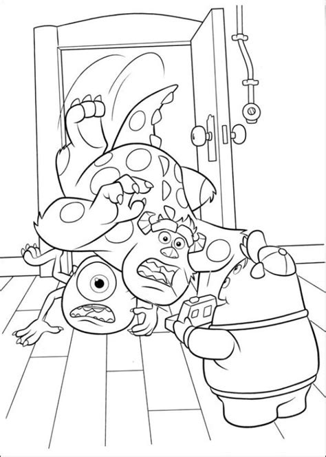 coloring pages monster university kids n fun com 45 coloring pages of monsters university