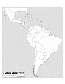 Latin America Blank Map by South America Map Quiz