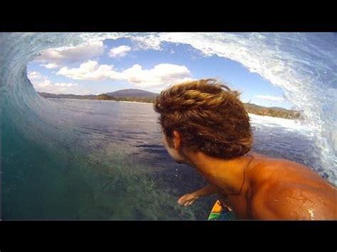 Gopro 4 Di Bali gopro hd surfer kailani jabour bali barrel