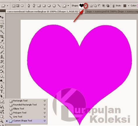 membuat video tulisan animasi cara membuat tulisan berbentuk love dengan photoshop