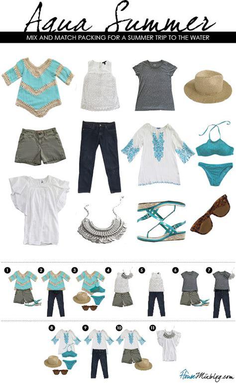 target 2016 summer wardrobe capsule summer trip wardrobe capsule aqua house mix