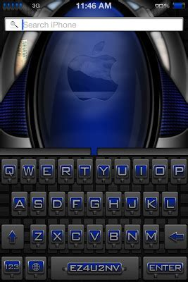 themes for iphone keyboard ez4u2nv color keyboard for iphone 4 theme free iphone themes