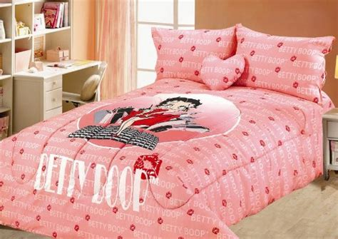 betty boop queen size comforter sheet shams bedding