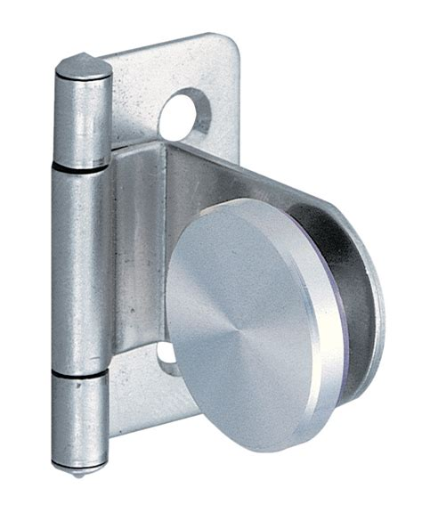 Hinge For Glass Door Hafele 361 46 010 Glass Door Hinge Inset Stainless Thebuilderssupply