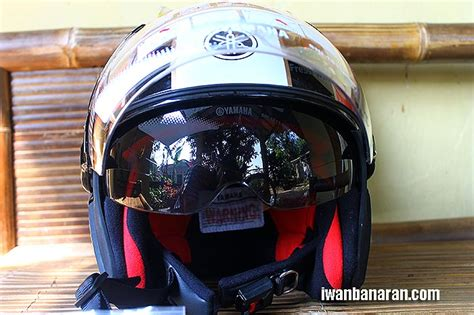 Helm Yamaha iwanbanaran all about motorcycles 187 review helm half yamaha quot fino quot edition yjn1