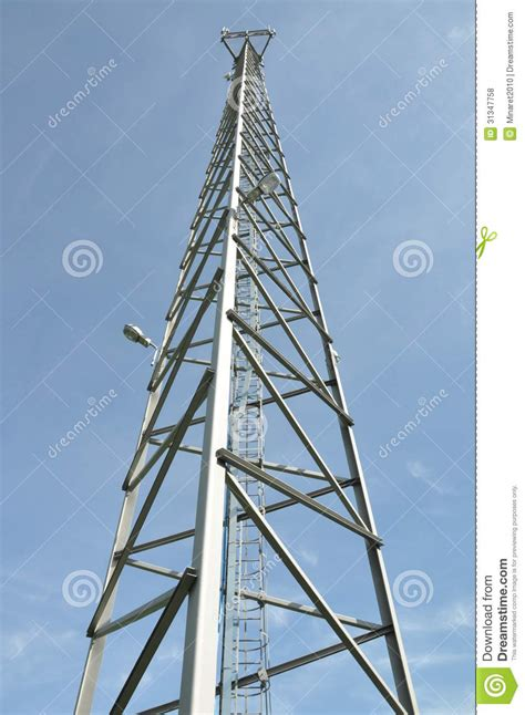 design brief of a cell phone tower steel cell phone tower royalty free stock photos image