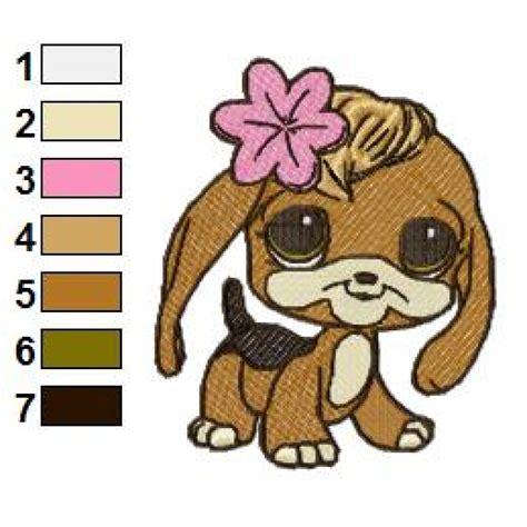 Littlest Pet Shop 01 Embroidery Design | littlest pet shop 01 embroidery design