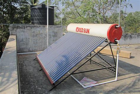 solar panel stock tank heater redsun solar water heater installation method