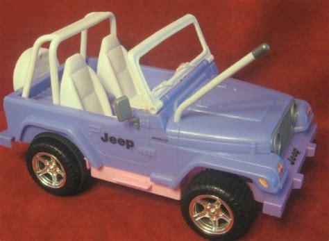 purple barbie jeep barbie bratz doll remote jeep wrangler purple pink 1999 ebay