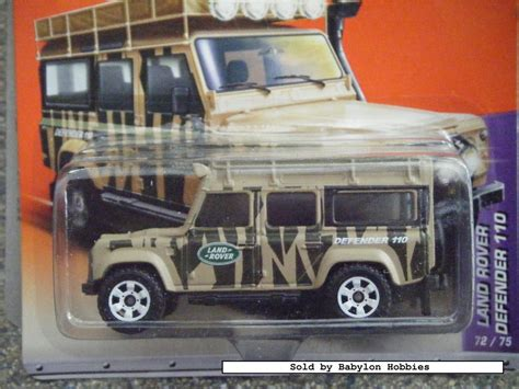 matchbox land rover discovery picture of mattel matchbox land rover defender 110 t9335