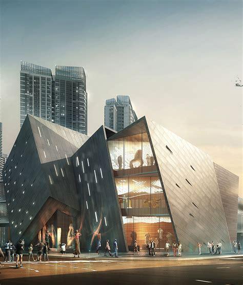 Architectural Renderer Dusk Visualization On Behance