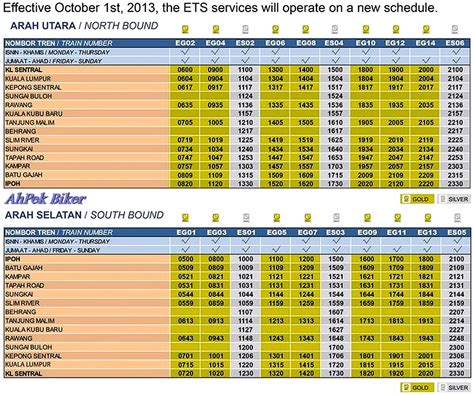 Malaysia Ktm Schedule Image Gallery Ets